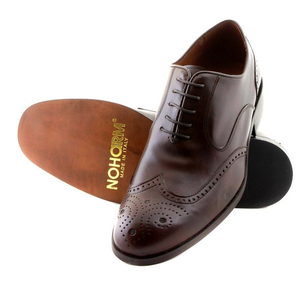 NOHARM shoes Traditional Brown Brogue Vegan Shoe NOHR1963