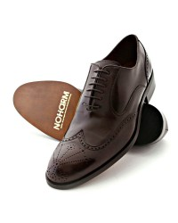 NOHARM Vegan Shoes Phoenix Style Brown Vegan Brogue shoes - NOHR0840