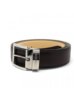 Brown NOHARM Vegan Belt. Made in Italy