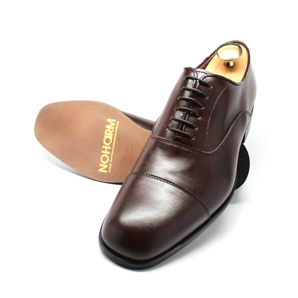 Vegan Brown Straight Cap NOHARM Shoes NOHA3324B